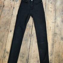Acne Skinny Jeans Pin Black Size 27/30 Photo