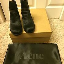 Acne Studio Clover Pony/ Black/ Size 37 Photo