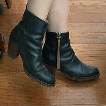 Acne Studios 570 Pistol Boots Womens Black / Brown Leather Zip Ankle Boots 39 Photo