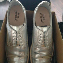 Acne Studios Askin Metal Silver  Photo
