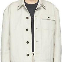 Acne Studios Beige Canvas Deck Jacket Oat Beige Size 46 (Small) Bnwt Brand New Photo