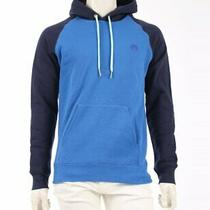 Acne Studios Bla Konst Parka Hooded Sweatshirt Sweat Cotton Blue Navy Photo