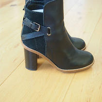 Acne Studios Black 'Cypress' Ankle Boots Celine Photo