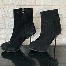 Acne Studios Boots Size 38 Black Suede Photo