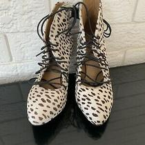 Acne Studios Boots Size 38 Pony Leopard Photo