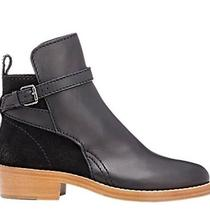 Acne Studios Clover Black Leather & Suede Clover Boots Size 36 Photo
