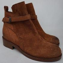 Acne Studios Clover Leather Nubuck Red Rust Ankle Boot Women's Us8 / Eu38 560 Photo
