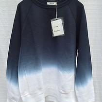 Acne Studios College Degrade Dip Dye Crewneck Sweater Size Xl Photo