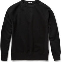 Acne Studios College Loopback-Cotton Jersey Sweatshirt Xs Photo