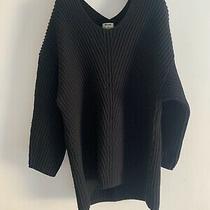 Acne Studios Deka Thick Wool Knit Jumper Size M. Black. Rrp 390. Photo