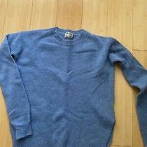 Acne Studios Deniz Wool Blue Sweater Xxs Photo