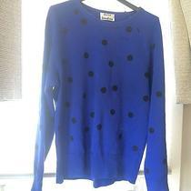 Acne Studios Dot College Sweater Blue Large  Photo