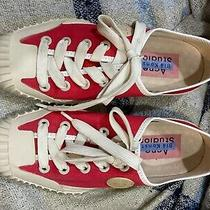 Acne Studios Draws Retro Baseball Sneakers Red. Rare Sz 8.5-9(ladies) 7-8(mens) Photo