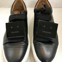 Acne Studios Drihanna Platform Sneakers -Black Leather - Rare - Sz 36 /us 6 Photo