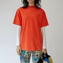 Acne Studios Gojina Dyed Rust Red T-Shirt Photo