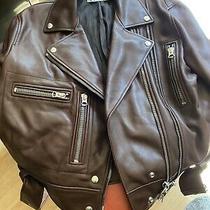 Acne Studios Leather Jacket Photo