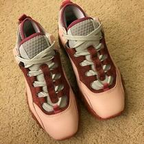 Acne Studios Manhattan Pink Red Leather Chunky Platform Sneaker Size It36/ us6.5 Photo