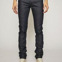 Acne Studios Max Raw Denim Jeans 29x34 Indigo - New Photo