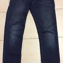 Acne Studios Mens Dark Blue Denim Jeans . Size -34/32 Photo