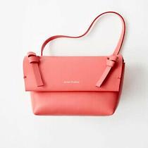 Acne Studios Mini Leather Crossbody Bag Purse  Bright Pink  New  Rrp 320 Photo