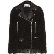 Acne Studios More Teddy Jacket Size 36 Black 1800 Photo