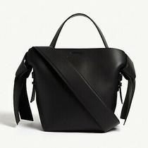 Acne Studios Musubi Micro Black Leather Bag Photo