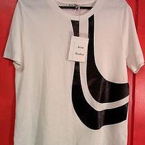 Acne Studios New With Tags Vista Fr Applique T-Shirt Sz Med Kanye Design Sweden Photo