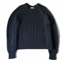 Acne Studios Ruth Air Navy Blue Sweater Photo