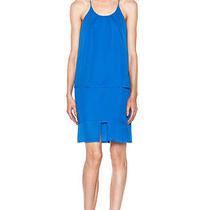 Acne Studios Satya Tape Dress in Blue Size Eu 36 / Small S / Us 6 Photo