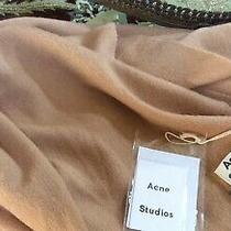 Acne Studios Scarfbeigenew With Tags Photo