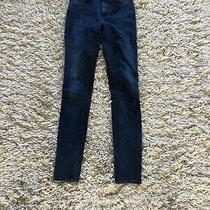 Acne Studios Skinny Ladies Jeans Style Pin Deep W27 L32 Blue / Black Denim Photo