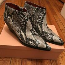 Acne Studios Snakeskin Python Stamped Leather Cammie Boots - 38 8 Fits Like 38.5 Photo