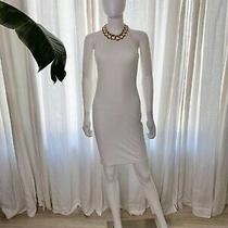 Acne Studios White Sleeveless Bodycon Dress. Never Been Worn With Tags. Size Sm Photo