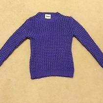 Acne Sweater Violet Rare Photo