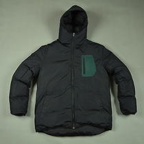 Acne Sweden Abisko Long Aw09 Down Men Jacket With Hood Size 50 Photo