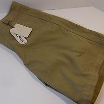 Acne Sweden Designer Alexander Khaki Shorts Tan  Size 48  U.s 31