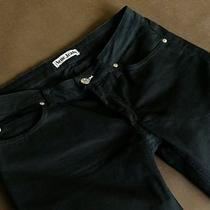 Acne Sweden Jeans Hep Black Stretch Denim Straight Wmn 31/32  Photo