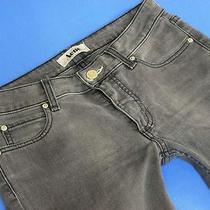 Acne Sweden Jeans Hex/filter Stretch Grey Straight Denim Wmn 28/32  Photo