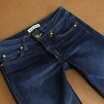 Acne Sweden Jeans Hex/scube Stretchy Dark Aged Straight Denim Wmn 26/32  Photo