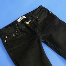 Acne Sweden Jeans Kex 3 Stretchy Skinny Black Grey Denim Wmn 27/32 Photo