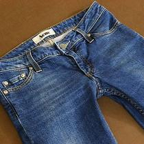 Acne Sweden Jeans Kex Proud Skinny Medium Aged Denim Wmn 26/34  Photo