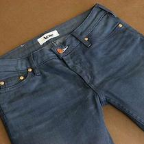 Acne Sweden Jeans Kex/thunder  Dark Aged Straight Denim Wmn 28/34 Photo