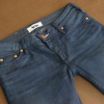 Acne Sweden Jeans Kex/thunder  Dark Aged Straight Denim Wmn 28/34 Photo