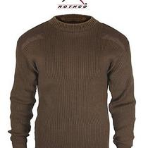 Acrylic Commando Sweater - Brown Photo