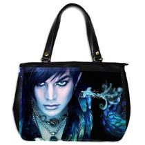 Adam Lambert We Can Fly So High Oversize Office Handbag Purse Leather 2 Sided Photo
