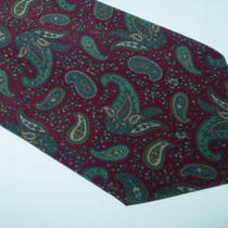 Adam's 100% Silk Tie. Made in Italy 33527 Photo