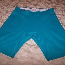 Adams u.s.a. Bike Cycling Shortssz L Aqua Turquoise Photo