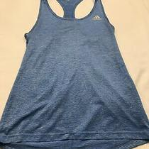 Addias Tank Top Womens Xs Blue Racer Back Photo