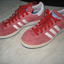Addidas Campus Red Suede Photo