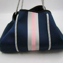 Addison Bay Women's Everyday Tote Navy/pink/silver Photo